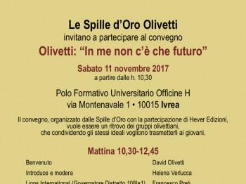 Olivetti: In me non c'è che futuro