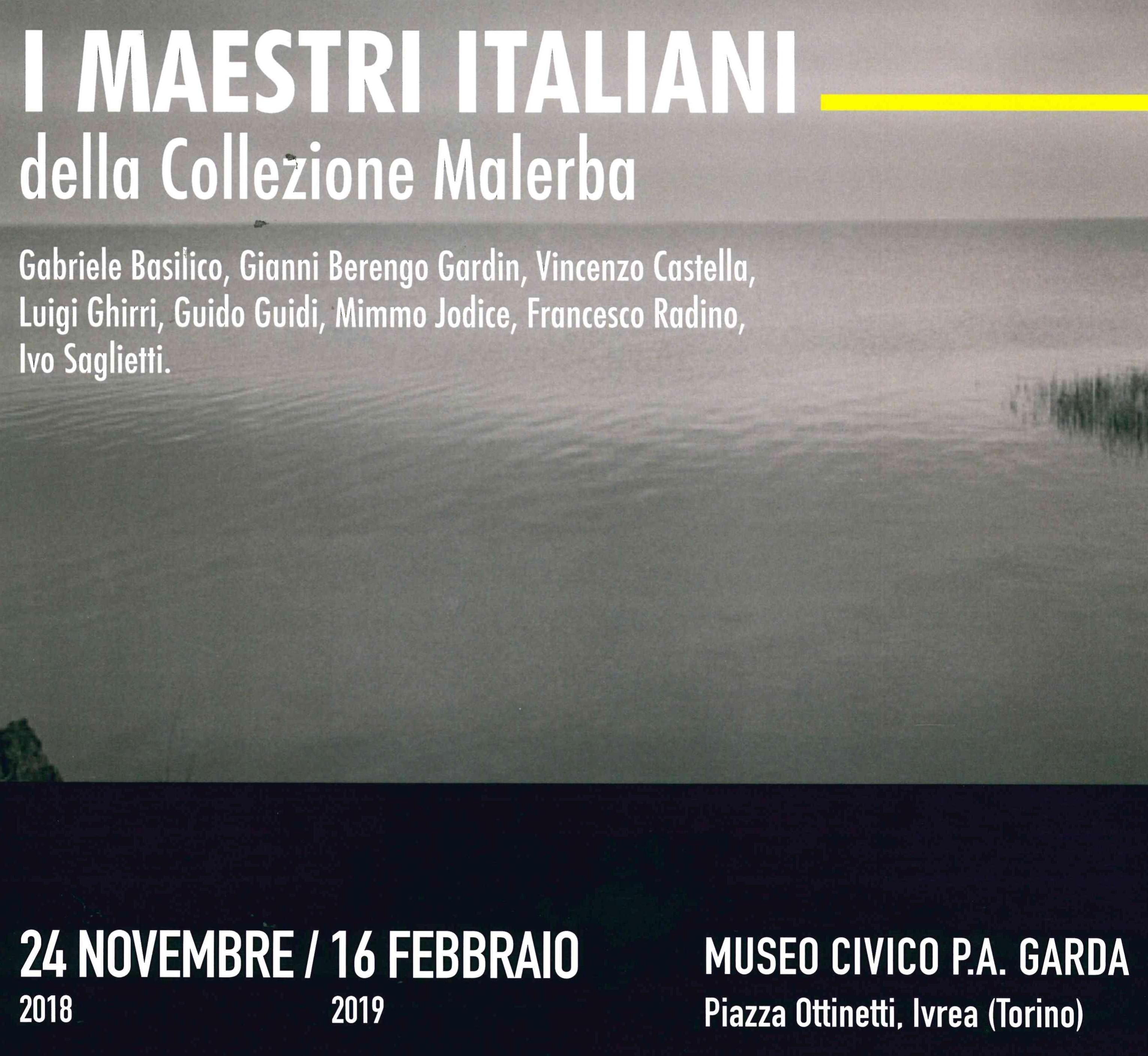 I maestri italiani della Collezione Malerba