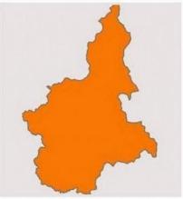 Piemonte in zona arancione
